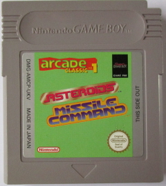 Arcade Classic no.1: Asteroids & Missile Command (GameBoy)