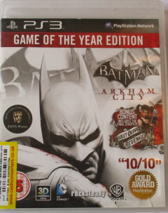 BATMAN Arkham City (Game of the Year Edition) (PS3)