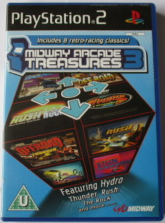 Midway Arcade Treasures 3 (Super Off Road) (PS2)